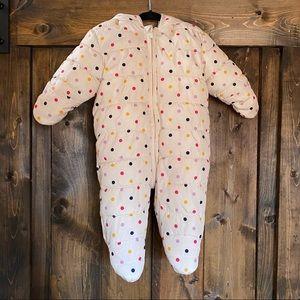 Baby Gap 3-6 mo. Polka Dot Snow Suit
